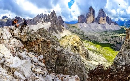 Ferratový zájezd San Martino di Casrozza, Lombardie, Itálie, autobusem, polopenze