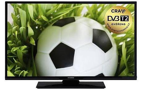 Televize Hyundai HLP 24T370 černá + Doprava zdarma