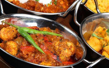 50% sleva na veškerá jídla v Indické restauraci MAYUR