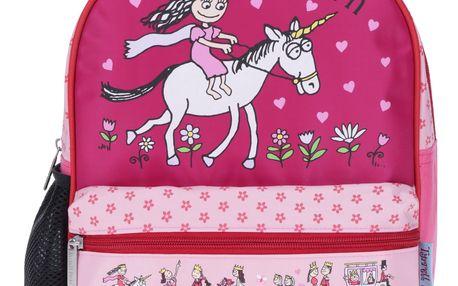 Růžový holčičí vzorovaný batoh Tyrrell Katz Princess