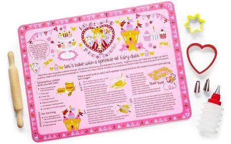 8dílný dětský zdobící set na cukroví Cooksmart England Princess