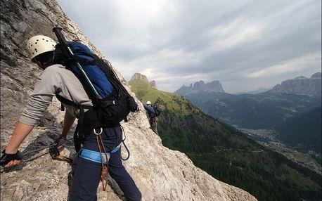 Itálie, Sextenské Dolomity zájezd via ferrata z pohodlí penzionu, Lombardie, Itálie, autobusem, polopenze