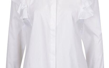 Bílá košile s volány Selected Femme Palma