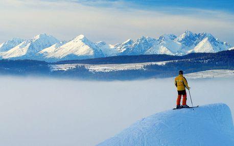 Lyžování na Slovensku v Levočské Dolině s wellness a polopenzí