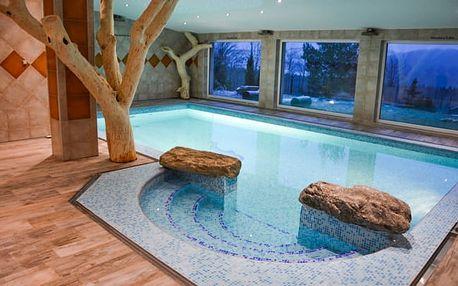 Vysočina s polopenzí a bazénem