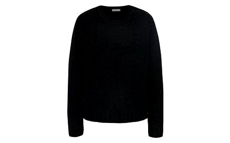 Černý třpytivý svetr Jacqueline de Yong Shine