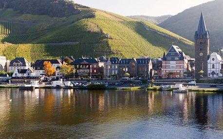 Mosela - krajem vína na kole i bruslích, Rhein|Mosel|Ahr|Lahn, Německo, autobusem, snídaně v ceně