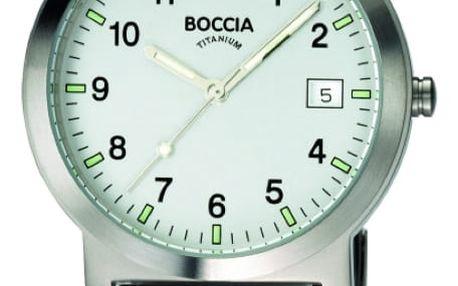 Boccia Titanium 3545-01 + nůž, pojištění hodinek, doprava ZDARMA, záruka 3 roky