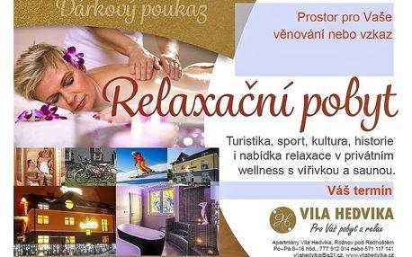 Vánoční pobyt Beskydy Valašsko Apartmány Vila Hedvika*** Rožnov..., Česká republika, vlastní doprava, bez stravy