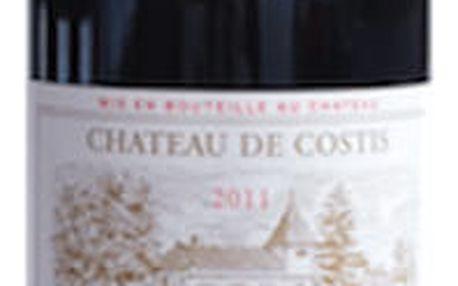 Mazeau - Bergstrom, Targon Červené víno - Bordeaux Chateau de Costis 2014 0,75 l