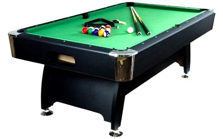 MAX 7309 Kulečníkový stůl 7 ft - s vybavením