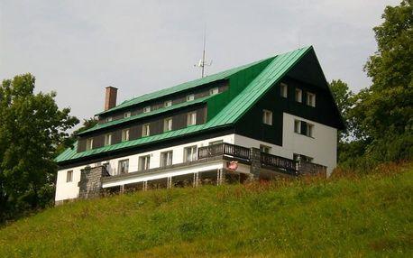 Česká republika, Krkonoše, vlastní dopravou na 4 dny polopenze