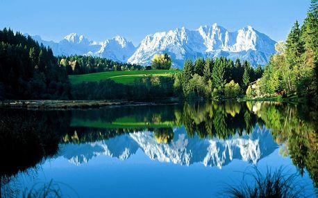 Rakousko, Kitzbühelské Alpy, Tyrolsko, Rakousko, autobusem, polopenze