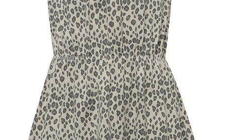 Krémové holčičí vzorované šaty name it Viggakira
