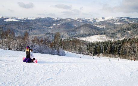 4-hodinový skipas do ski centra Levočská dolina ve všední dny