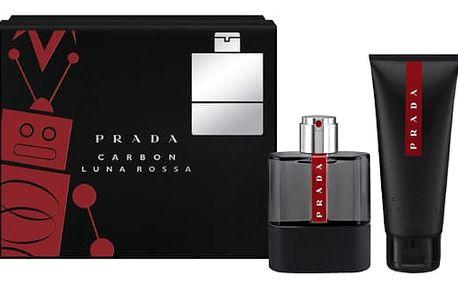 Prada Luna Rossa Carbon Toaletní voda pro muže Dárkový set XMAS