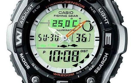 Casio AQW 101-1A + nůž, pojištění hodinek, doprava ZDARMA, záruka 3 roky