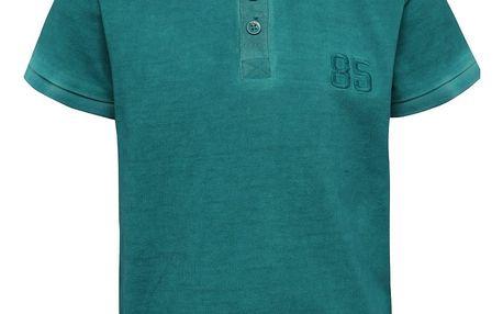 Zelené klučičí polo triko s výšivkou name it Tern