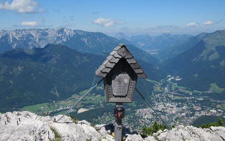 Náročnější ferrata Katrin a Drachenwand, Salzbursko, Rakousko, autobusem, polopenze