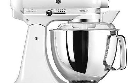 Kuchyňský robot KitchenAid Artisan 5KSM175PSEWH bílý + Doprava zdarma