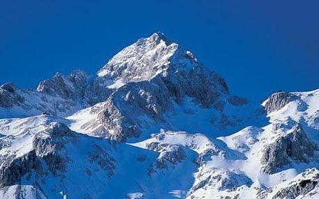 Slovinsko, Vysokohorská zimní turistika, Julské Alpy, Slovinsko, autobusem, bez stravy