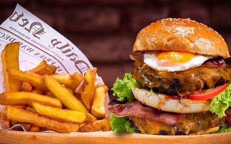 Tower Burger menu s kvalitním masem a nápojem
