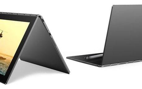 Dotykový tablet Lenovo YOGA Book 10 (ZA0V0027CZ) šedý + DOPRAVA ZDARMA