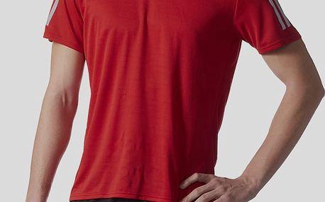 Tričko adidas Performance RS SS TEE M Červená
