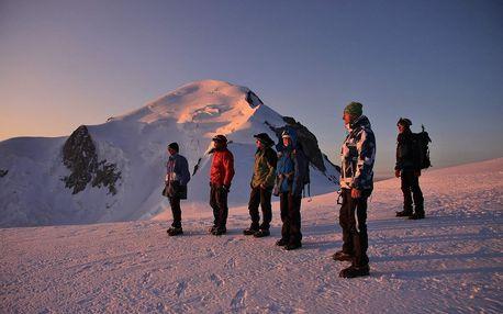 Francie, výstup na Mont Blanc 'zájezd expedice, trek', Rhône Alpes, Francie, autobusem, bez stravy