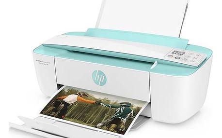 Tiskárna multifunkční HP DeskJet Ink Advantage 3785 (T8W46C#A82) bílá barva/zelená barva