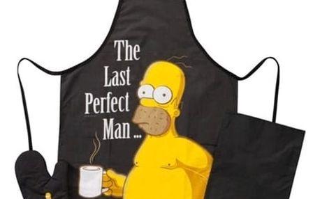 Curepink Kuchyňský set Homer Simpsons Bavlna, UNI