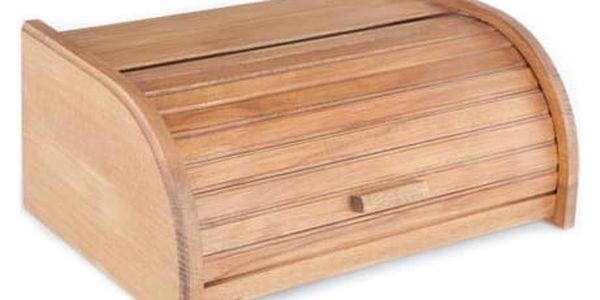 KOLIMAX Dřevěné výrobky box na pečivo 42 cm buk, barva dub