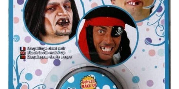 Černá pasta na zuby