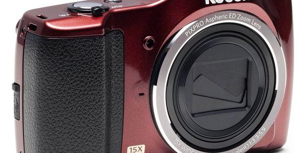 Digitální fotoaparát Kodak FZ152 (819900012316) červený4