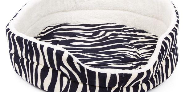 Zvířecí pelech Zebra, 60 x 50 cm