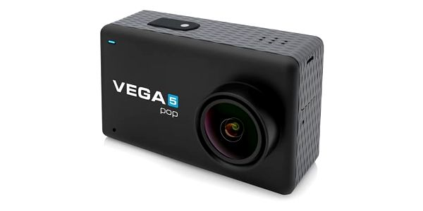 Outdoorová kamera Niceboy VEGA 5 pop + dálkové ovládání (vega-5-pop) černá Power Bank Niceboy 10000mAh černá v hodnotě 599 Kč + DOPRAVA ZDARMA