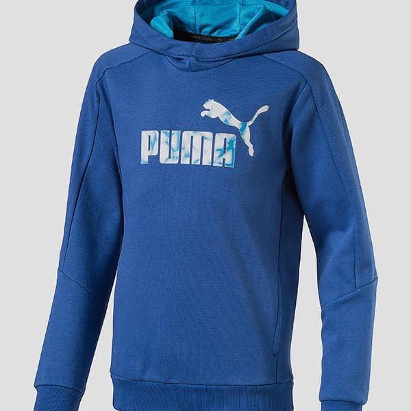 Mikina Puma Hero Hoody TR Modrá