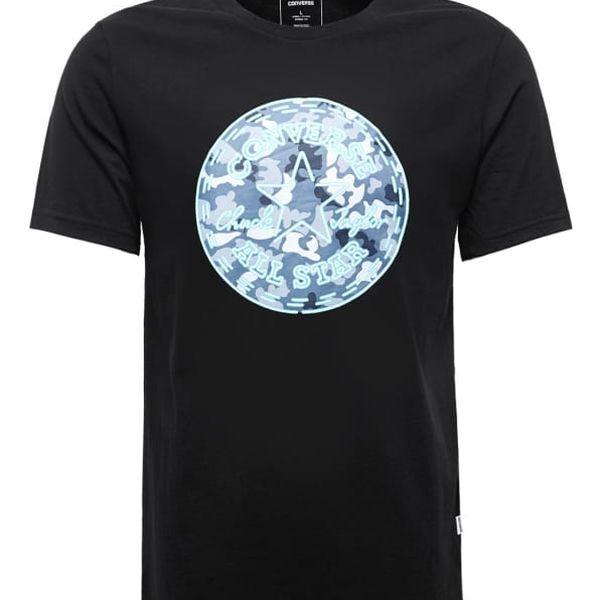 Pánské tričko Converse Neon CP camo fill tee černé M