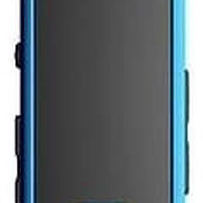 MP3 přehrávač Transcend MP350 8GB (TS8GMP350B) černý/modrý