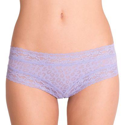 Dámské kalhotky Victoria's Secret cheeky fialové tygrované M
