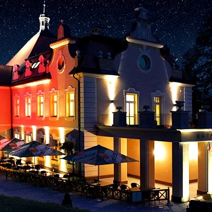 3 pohádkové dny zámku Berchtold: masáž i večeře