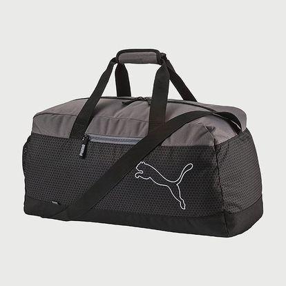 Taška Puma Echo Sports Bag Black-Quiet Sh Černá