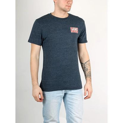 Tričko Vans Mn Shaping Triblend Navy Heather Modrá