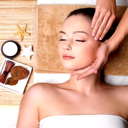 Balíček relaxace pro ženy v délce 70 min., masáž hlavy, obličeje, dekoltu, rukou, liftingová maska.