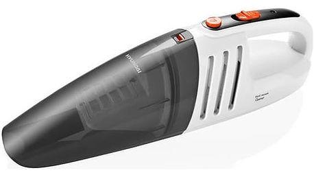 Akumulátorový vysavač Hyundai HVC 101, AKU šedý/bílý + Doprava zdarma