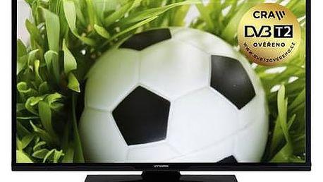 Televize Hyundai HLP 32T370 černá + Doprava zdarma