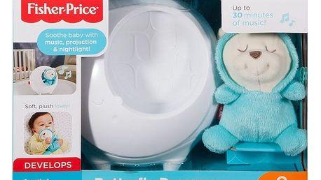 FISHER-PRICE Projektor s motýlím kamarádem pro klidné sny