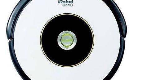 Vysavač robotický iRobot Roomba 605 černý/bílý + Doprava zdarma