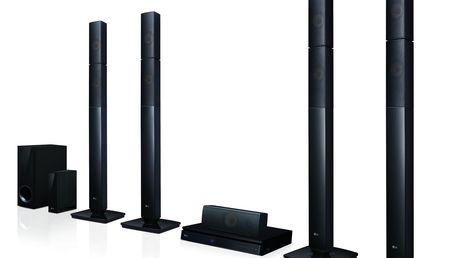 Blu-ray domácí kino LG LHB655NW černé