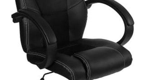 RACEMASTER® 9496 Otočná kancelářská židle ČERNÁ GS Series